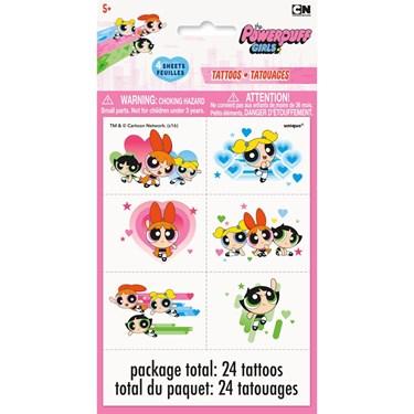 Powerpuff Girls Tattoo Sheets (4)