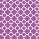 Default Image - Pretty Purple Quatrefoil Lunch Napkins (16)