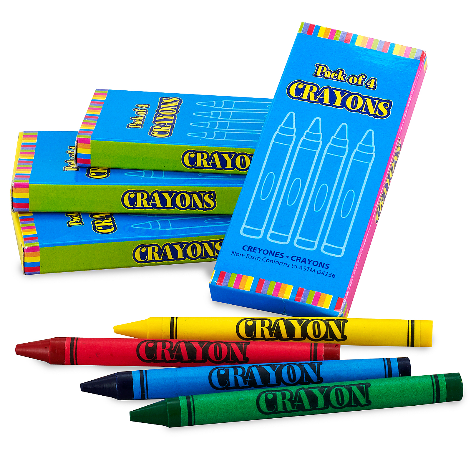 Main Colors In A Crayon Box Primary Crayon Boxes Bx