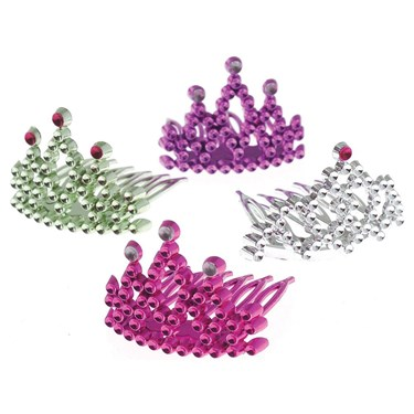 Princess Assorted Tiara Combs (12)