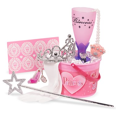 Princess Filled Party Favor Bucket