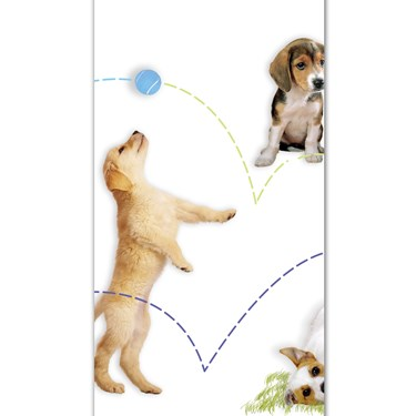 Puppy Party Table Cover (each)