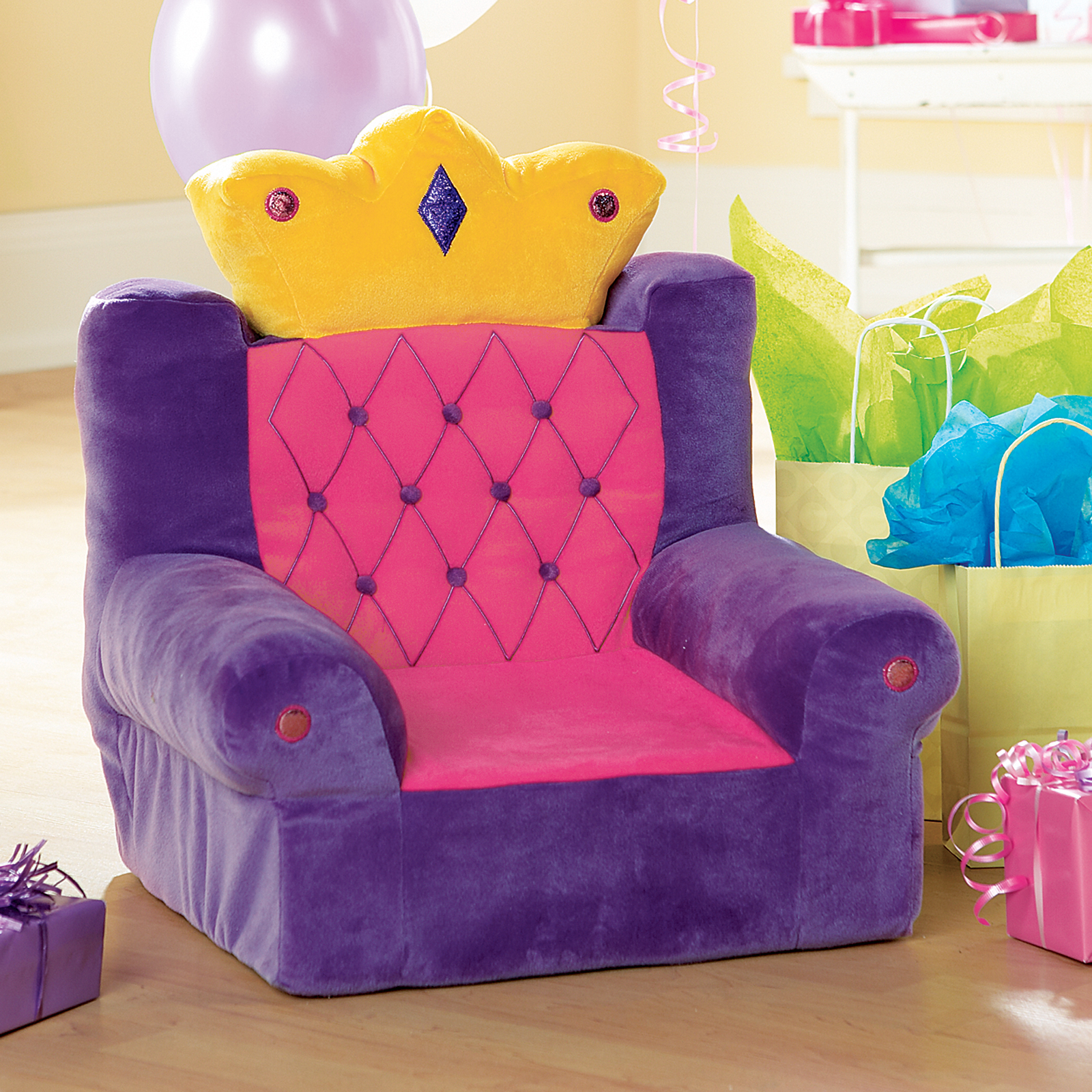 Purple Princess Throne