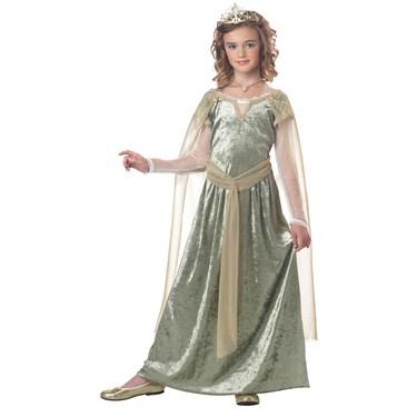 Queen Guinevere Kids Costume