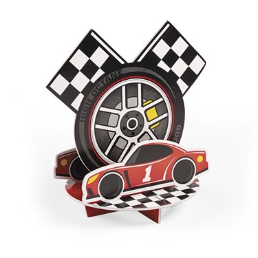 Racecar Birthday Centerpiece