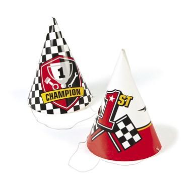 Racecar Party Hats(12)