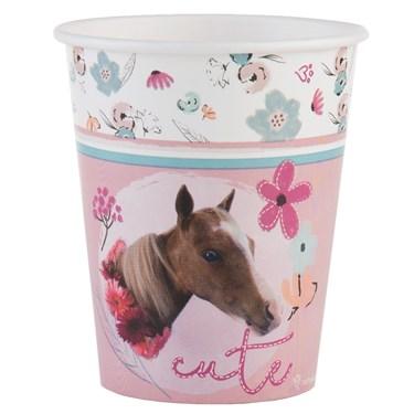 Rachael Hale Beautiful Horse 9oz Paper Cups (8)