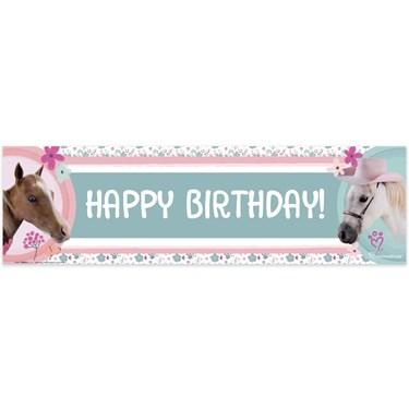 Rachael Hale Beautiful Horse Birthday Banner