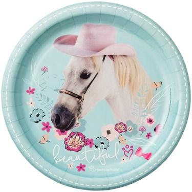 Rachael Hale Beautiful Horse Dinner Plates (8)
