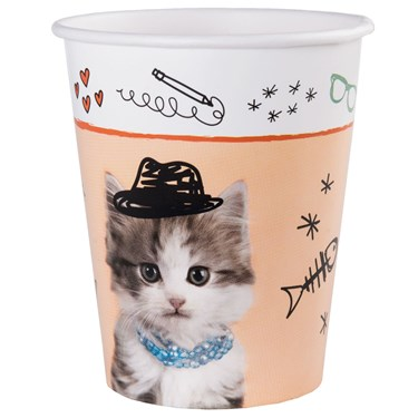 Rachael Hale Cats Rule 9oz Paper Cups (8)