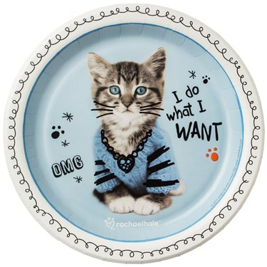 Rachael Hale Cats Rule Dessert Plates (8)