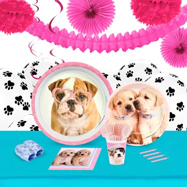 Rachael Hale Glamour Dogs 16 Guest Tableware & Deco Kit