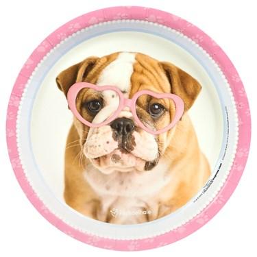 rachaelhale Glamour Dogs Dinner Plates