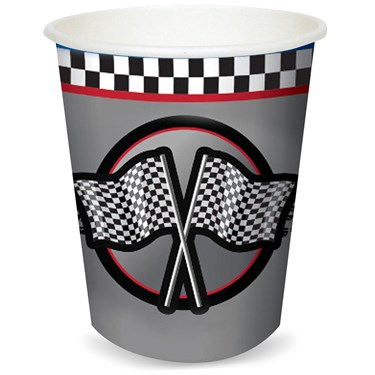 Racing 9 oz. Paper Cups