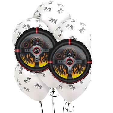 Racing Racecar 8 pc Balloon Kit