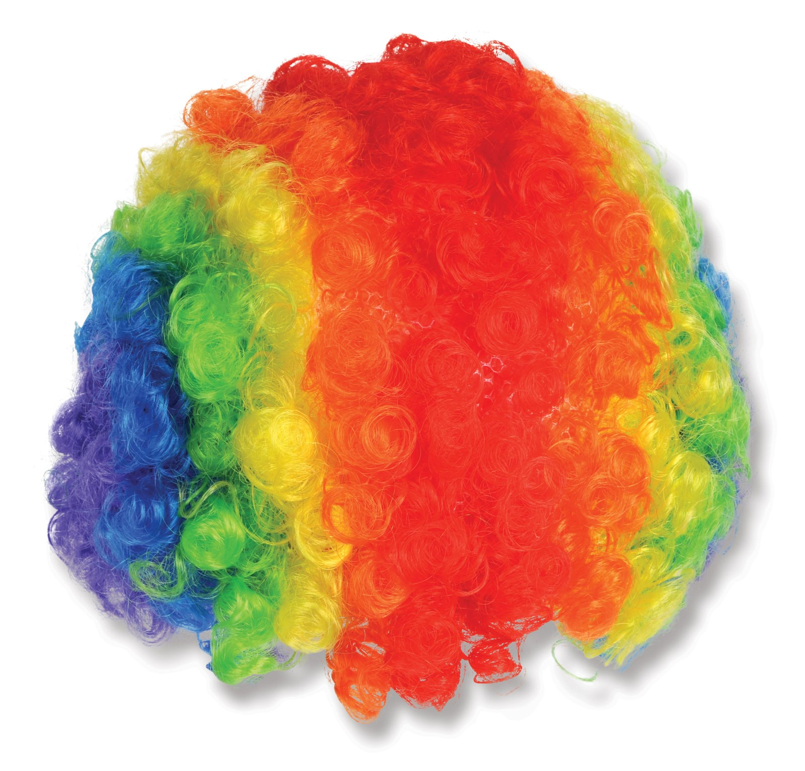 Rainbow Clown Wigs 5