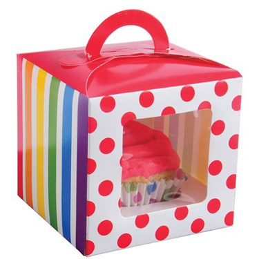 Rainbow Party Cupcake Boxes (12)