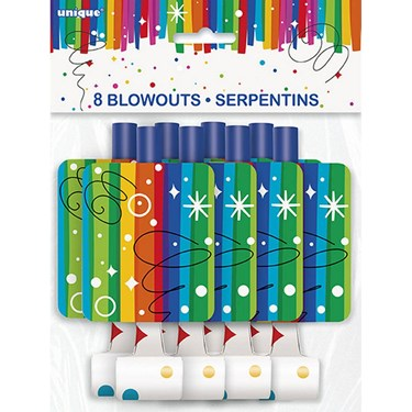 Rainbow Ribbons Birthday Blowout (8)