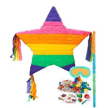 Rainbow Star Pinata Kit