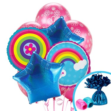 Rainbow Wishes Balloon Bouquet