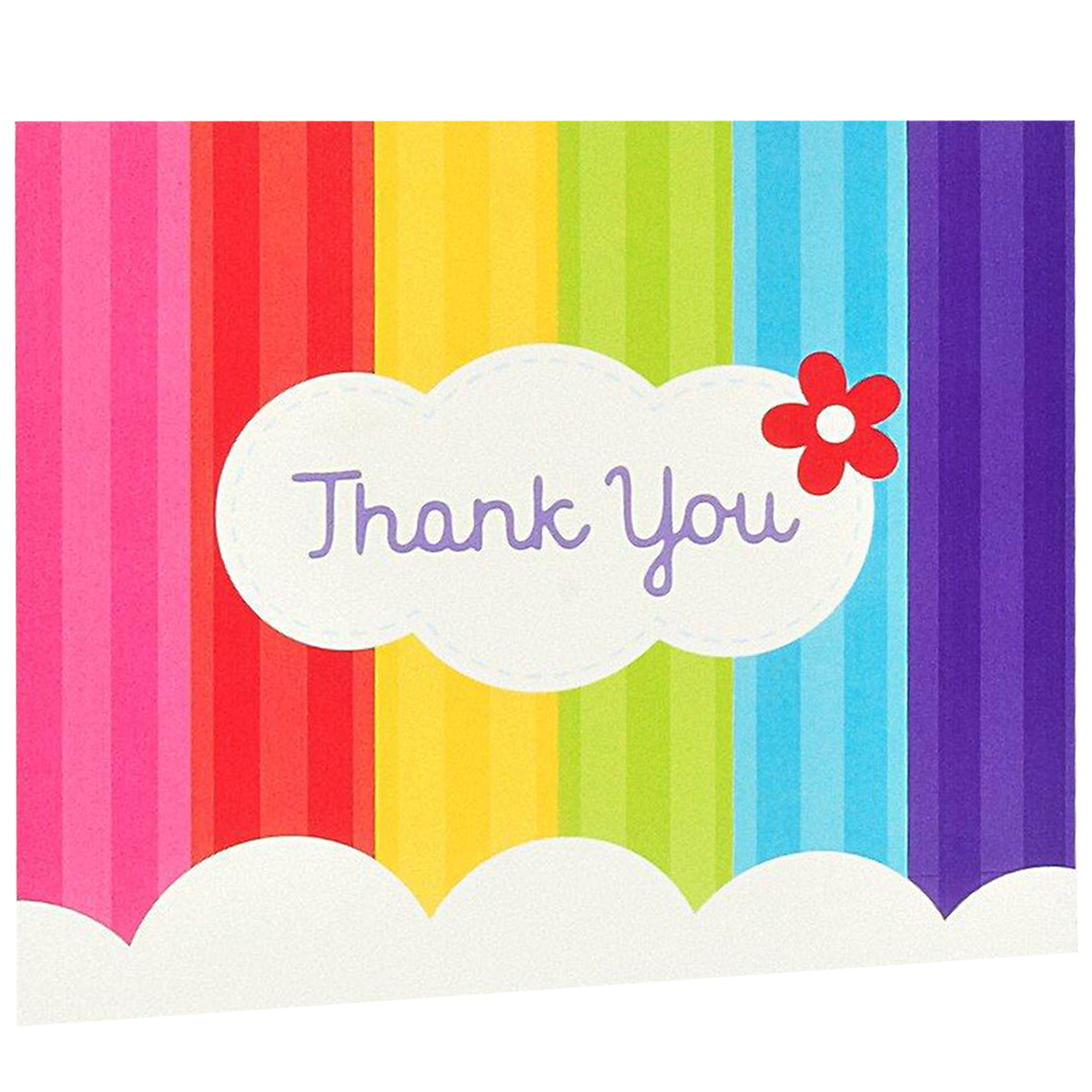 Default Image   Rainbow Wishes Thank You Notes ...