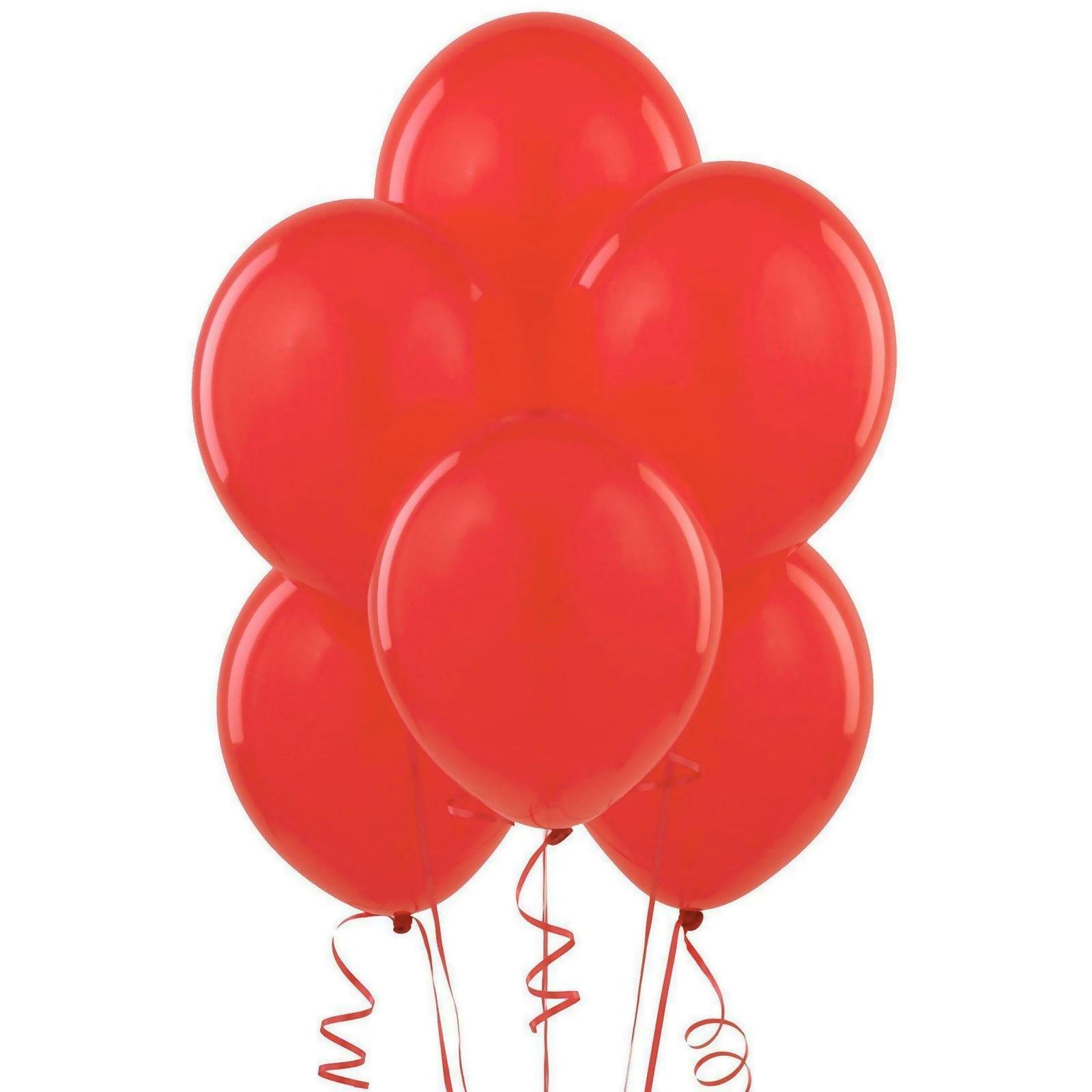 Red Matte Balloons