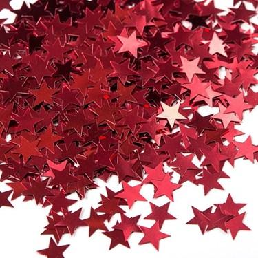 Red Stars Foil Confetti .5oz (1)