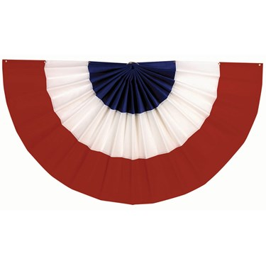 "Red, White and Blue Bunting (18"" x 36"")"