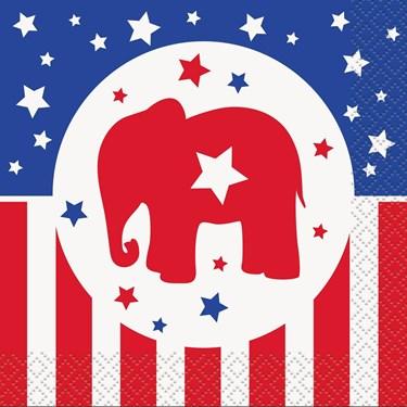 Republican Party Cocktail Napkins (16 Count)