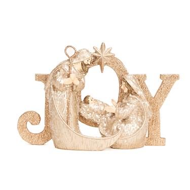 Resin Joy Holy Family