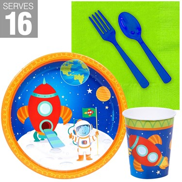 Rocket to Space Snack Pack For 16