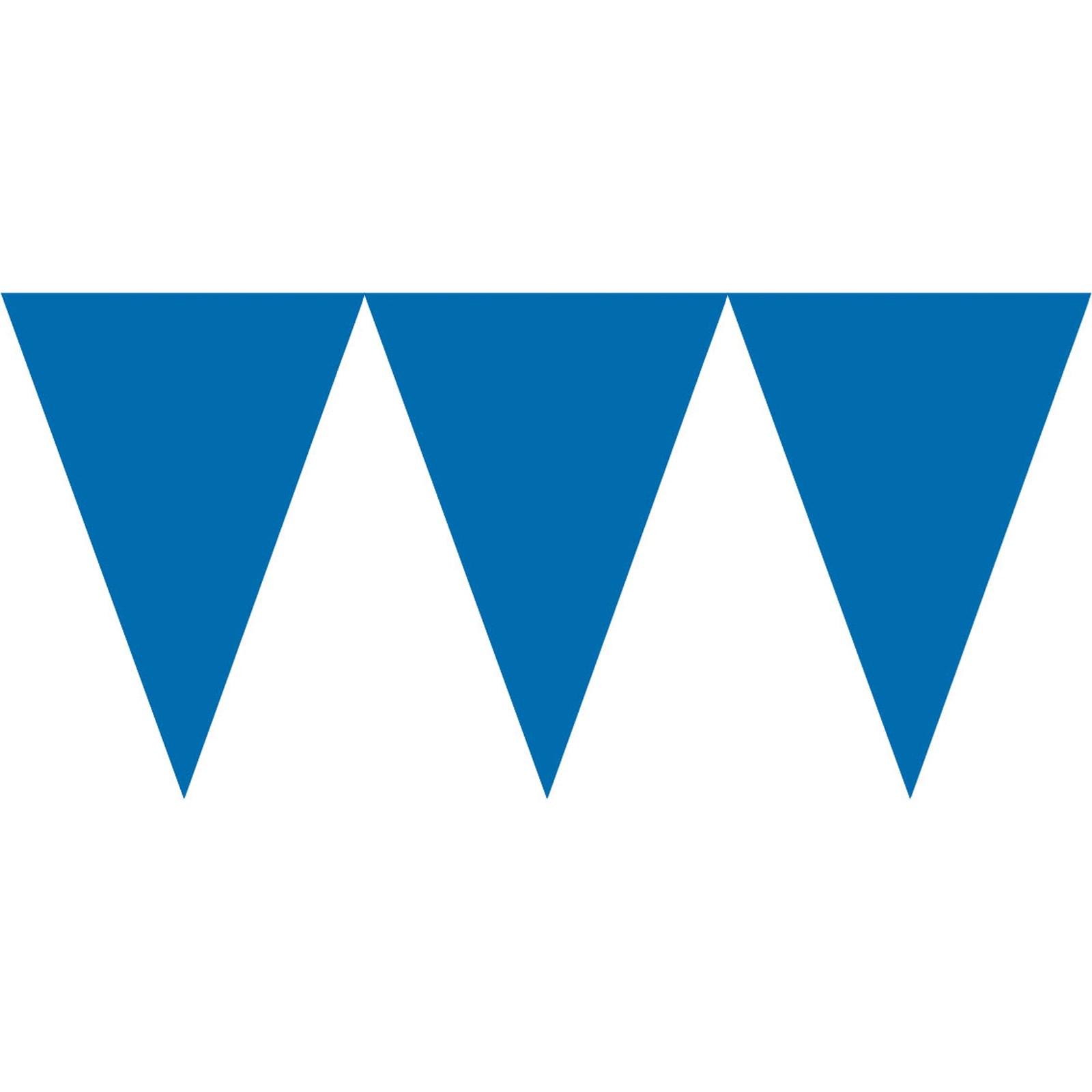 royal blue paper pennant banner birthdayexpress com