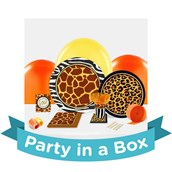 Safari Animal Adventure Party in a Box