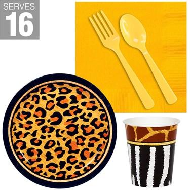 Safari Animal Adventure Snack Pack (For 16)