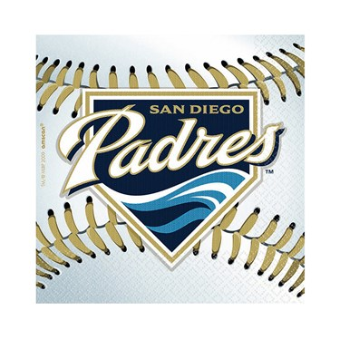 San Diego Padres Baseball - Beverage Napkins