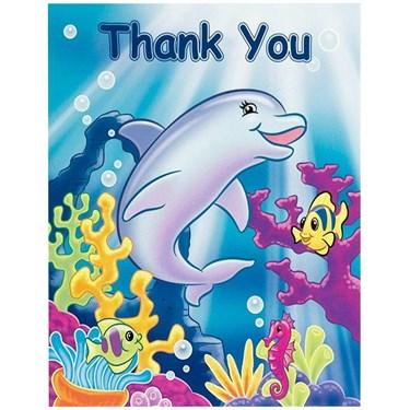 Sea Life Thank-You Notes