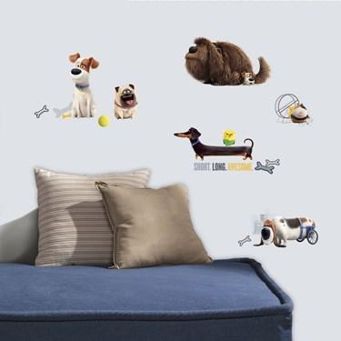 Secret Life of Pets Boys Wall Decals