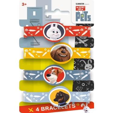 Secret Life of Pets Rubber Bracelets (4)