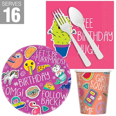 Selfie Celebration Snack Pack for 16
