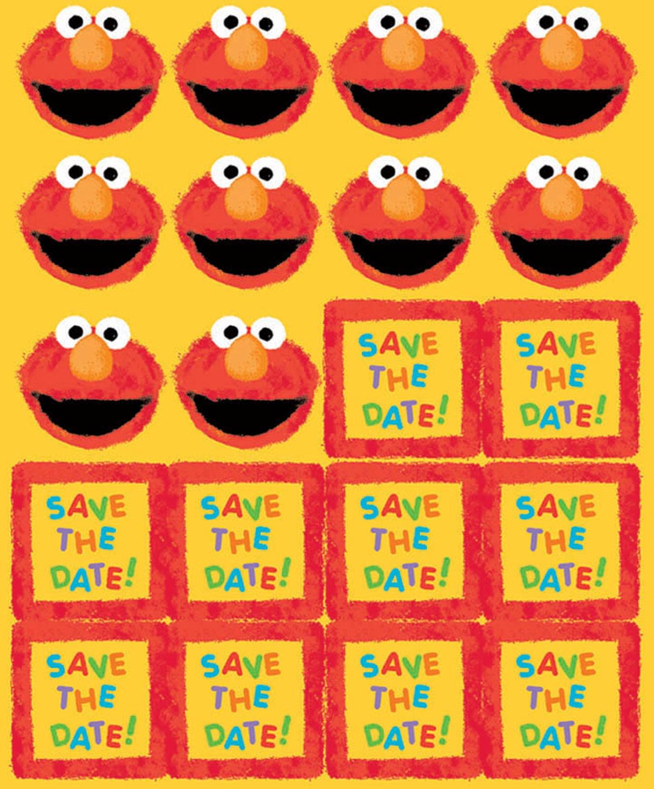 Sesame Street 1st Birthday Invitations – Sesame Street 1st Birthday Invitations