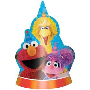 Sesame Street 2 - Cone Hats (8)