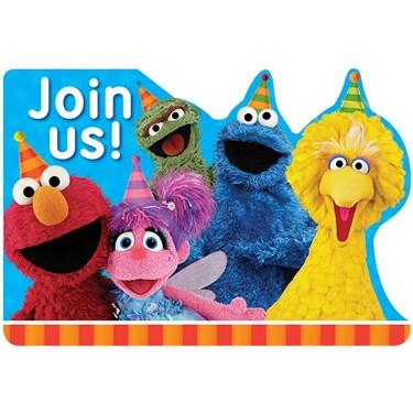 Sesame Street 2 - Postcard Invite (8)