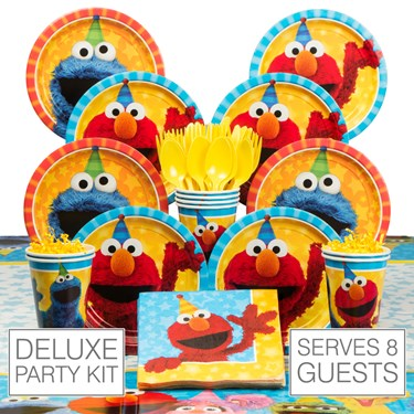 Sesame Street 8 Guest Party Pack