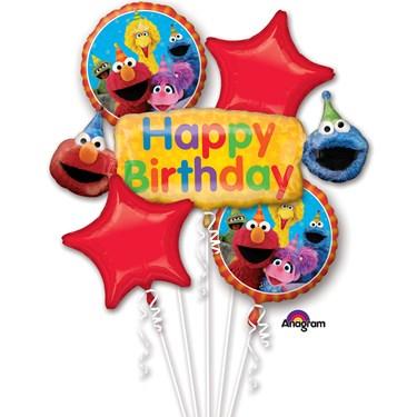 Sesame Street Balloon Bouquet