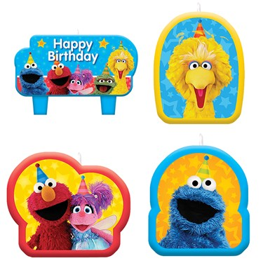 Sesame Street Candle Set (4)