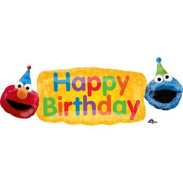 """Sesame Street Elmo 42"""" Balloon (1)"""