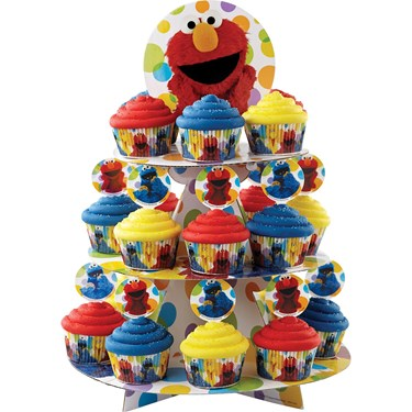 Sesame Street Elmo Cupcake And Treat Sta