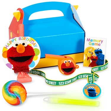 Sesame Street Party - Filled Party Favor Box