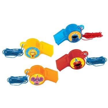 Sesame Street Whistle Favors (12)