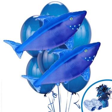 Shark Jumbo Balloon Bouquet